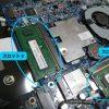 ノートPC「m-Book B502E」のメモリ増設方法